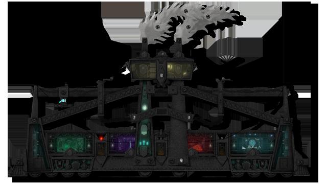 DARK TRAIN – steampunk 2D adventure made of paper