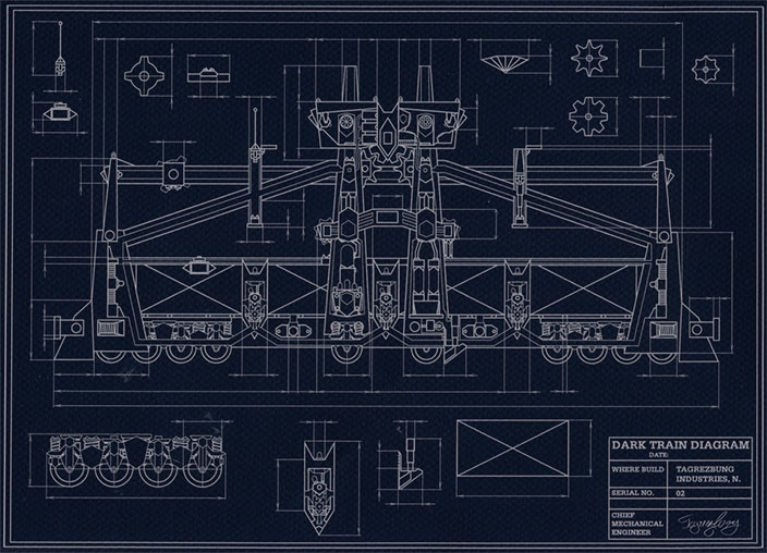 dark train blueprint