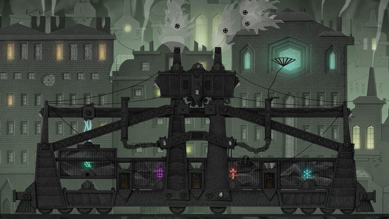 Dark Train in the Border City