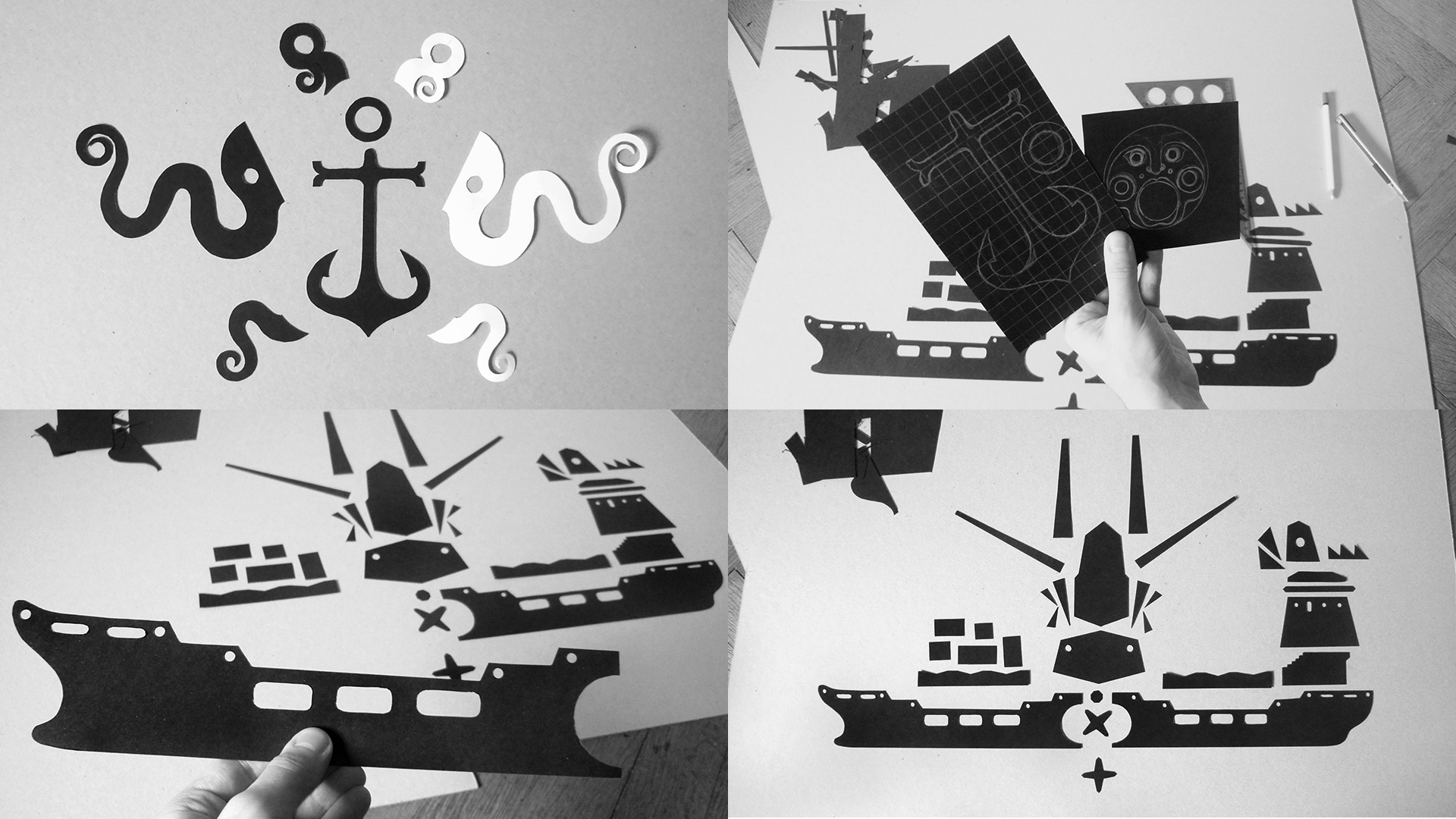 Making of Steamboat Prokop
