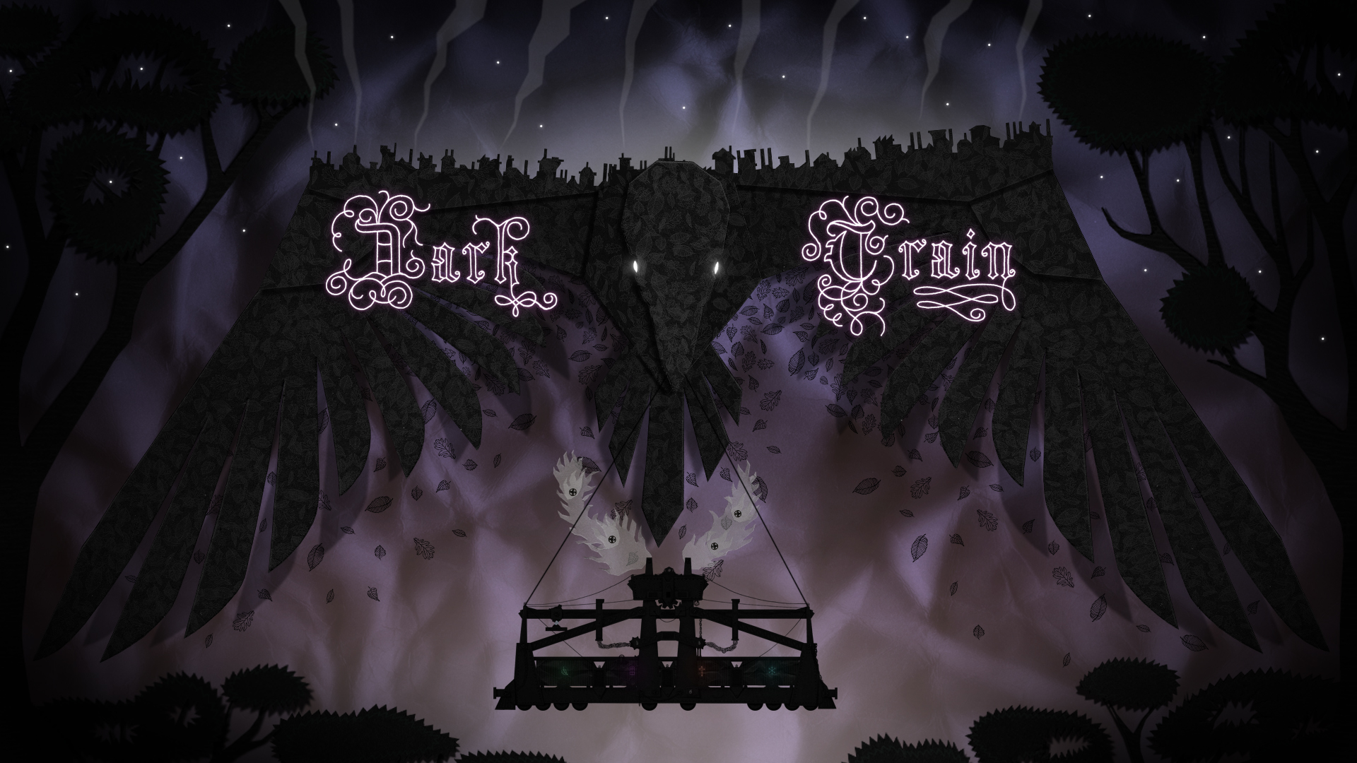 Dark Train Title Screen